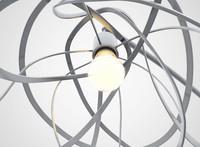 3d ligne roset bloom lamp model