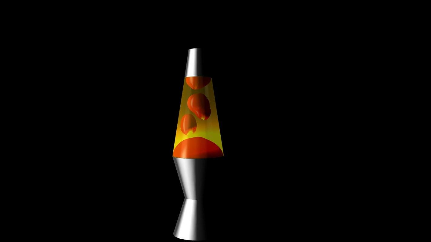 classic lava lamp 3d ma