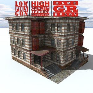 maya weathered house games