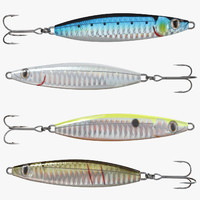 fishing lures 3d max