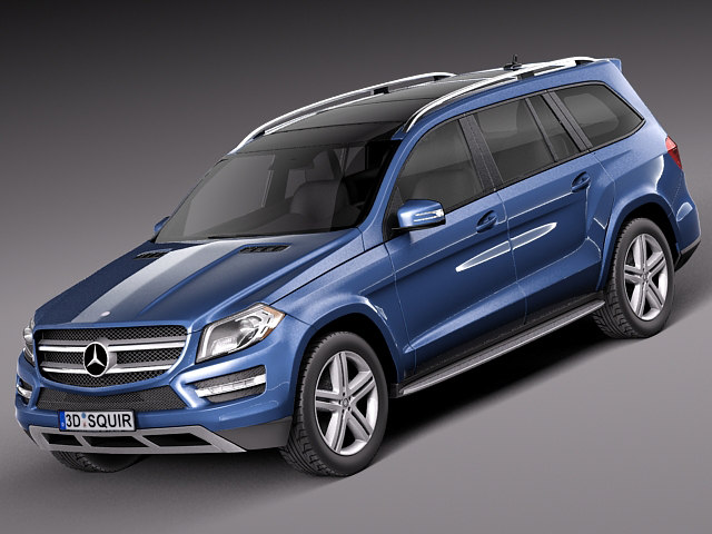 mercedes benz gl 2013 3ds