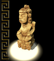 Mayan Figure Replica 4