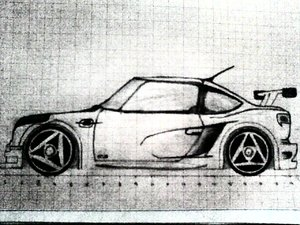 3d model of car
