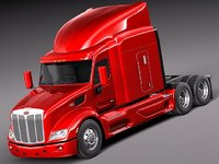 Peterbilt 579 semi truck 2012