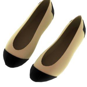 shoes female 3d model