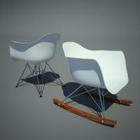 2 Vitra Eames Plastic Armchair RAR