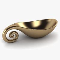 accent bowl 3d model