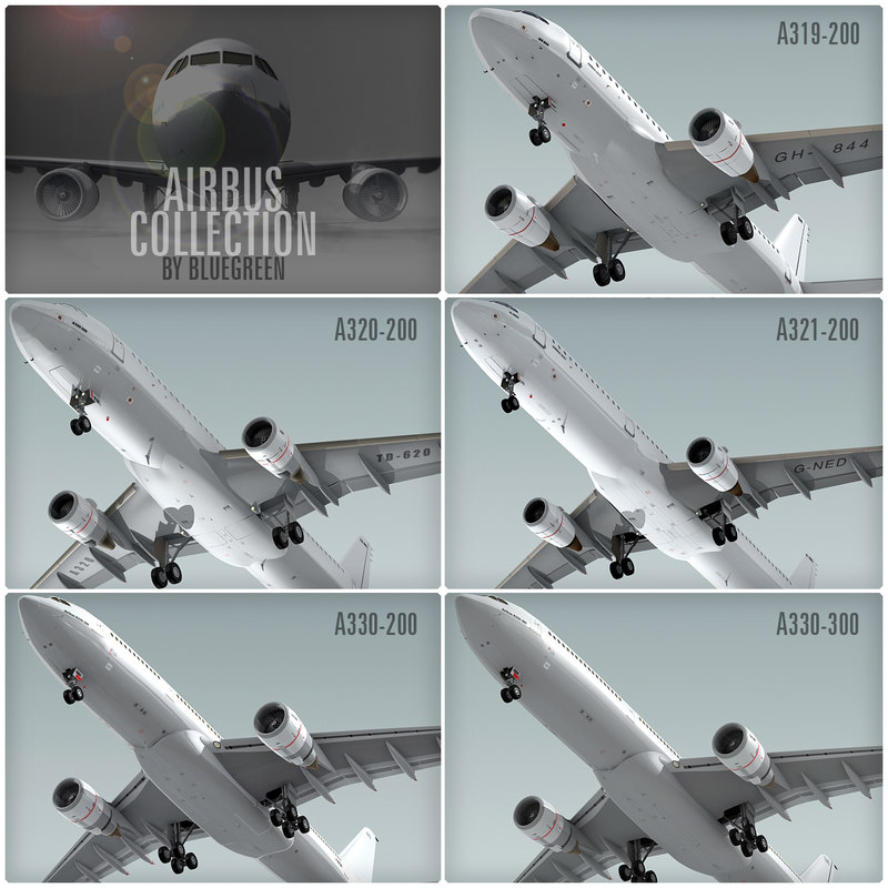 3ds bus planes generic