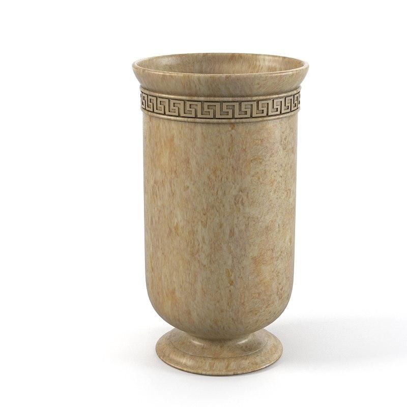 3ds max classic floor vase