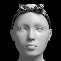 front bow headband