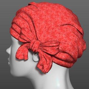 obj scarf head