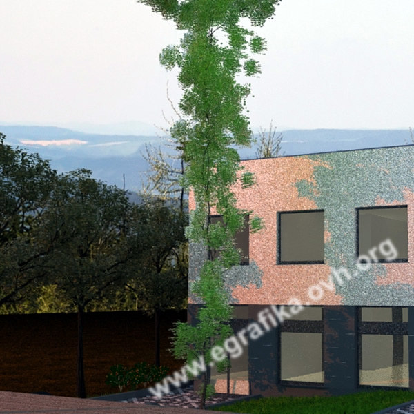 3d model natural tree