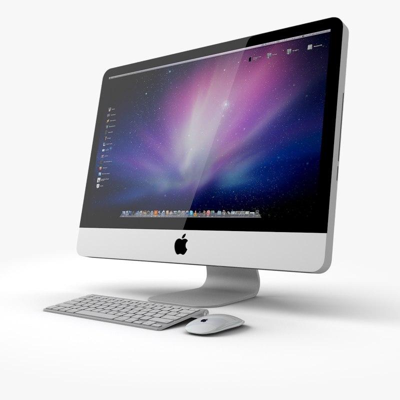 apple imac 3ds