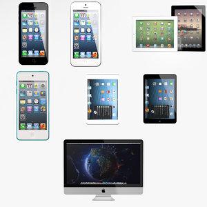3d model apple 2012 ipod