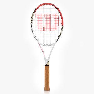 obj wilson pro staff tennis racquet