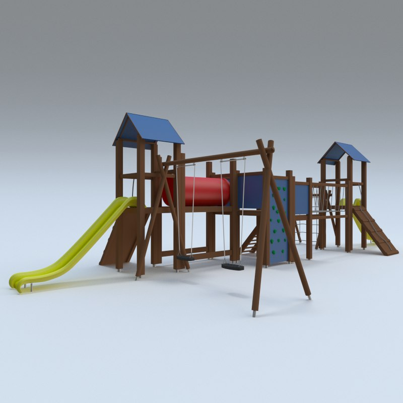 3d model playground play