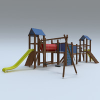 3d model playground play