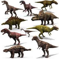 dinosaurs dino 3d model