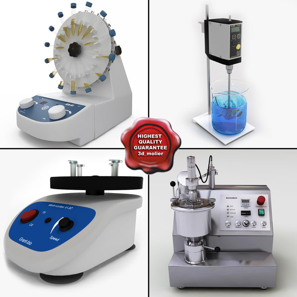 3d laboratory mixers v2 lab