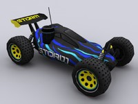 rc nitro car games 3d obj
