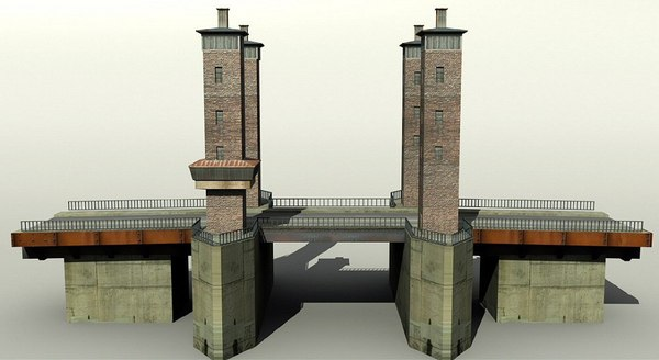 3d model bridge germany