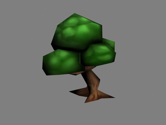 tree growing 3d x