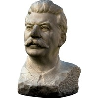 Stalin's statue bust