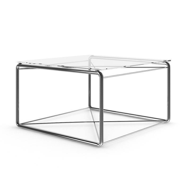 square coffee table 3d max