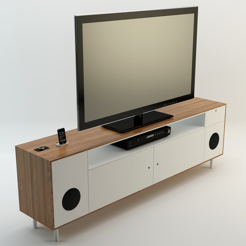 cabinet interior 3d 3ds