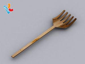 3d model pitchfork pitch fork