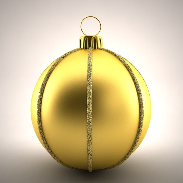 3d model christmas decoration