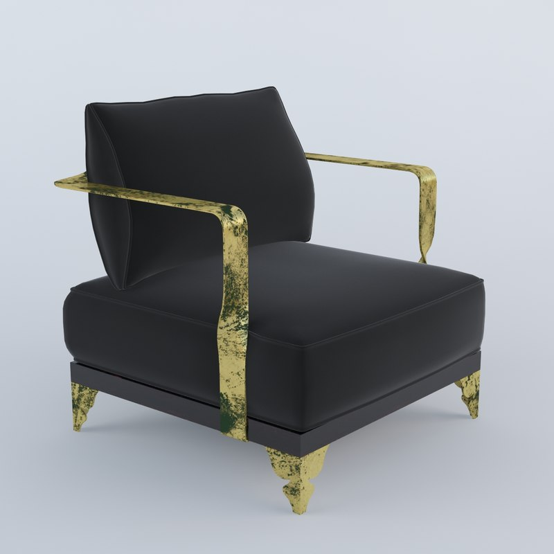 s cp419 guilded armchair