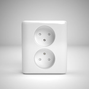 electrical outlet obj
