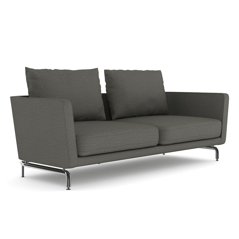 grey sofa pillow 3d model