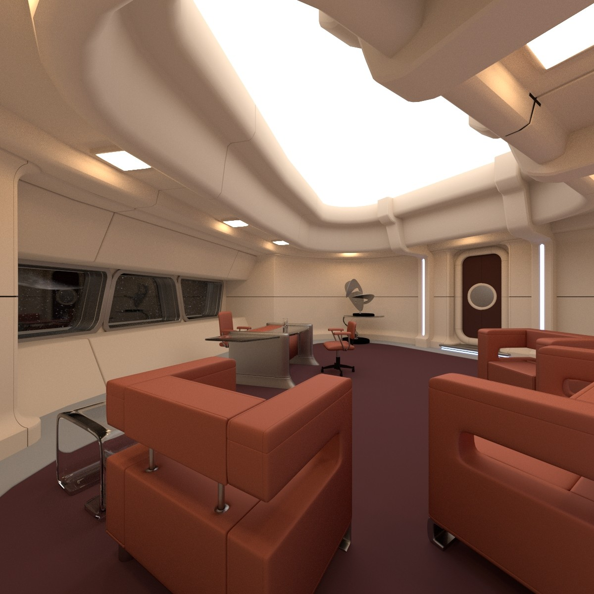 maya captain s office starship