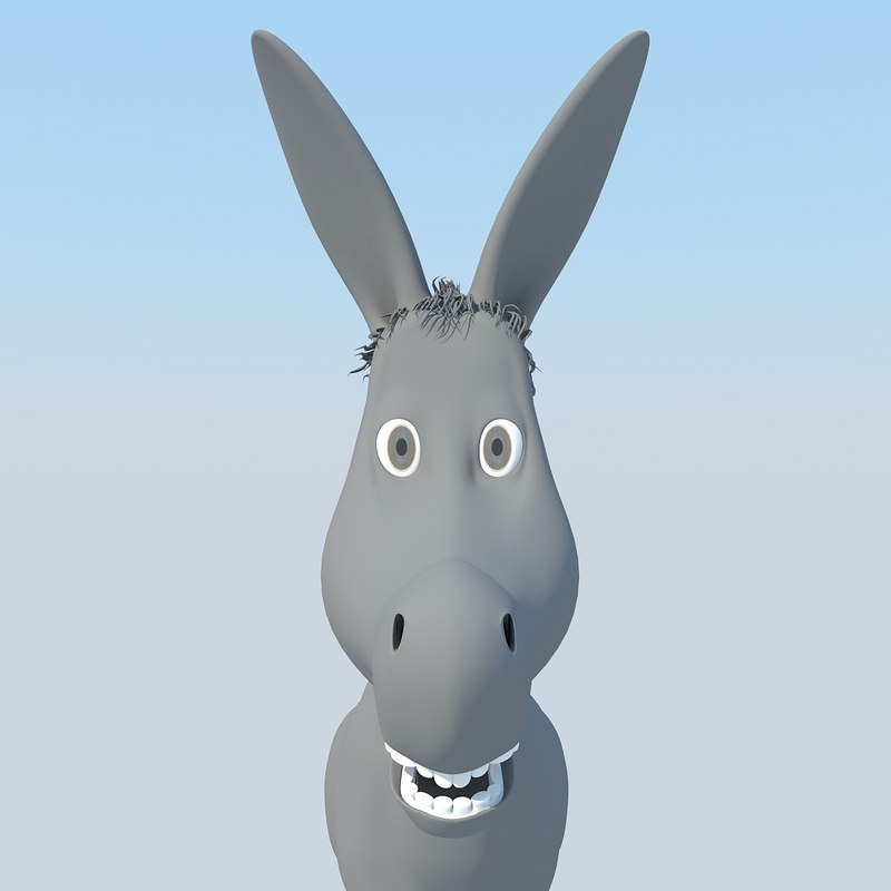 max cartoon donkey 2011