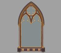 gothic mirror obj