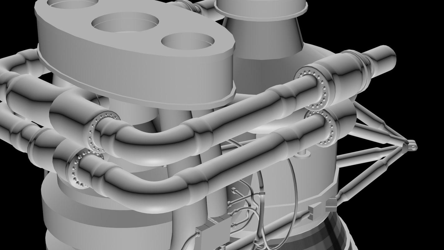 maya saturn f1 engines