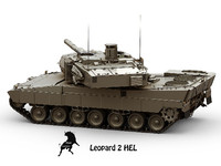 3d hel leopard model