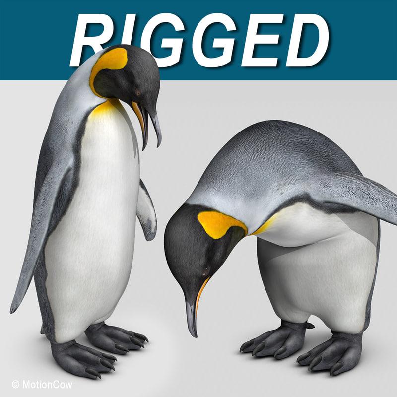 king penguin 3d max