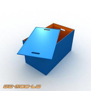 3d leroy box model