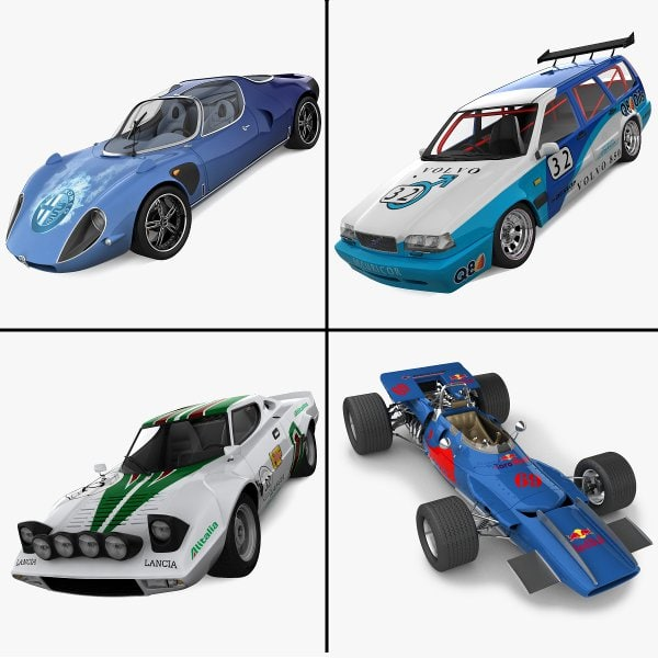 racing cars 4 3ds