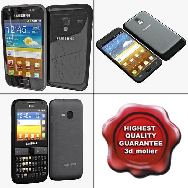 samsung phones v5 s 3d model