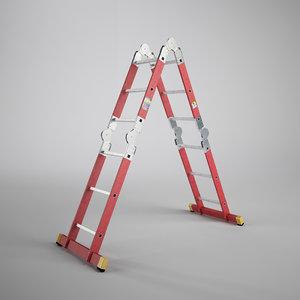 3d scaffold ladder