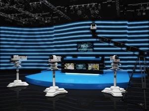 scene virtual sport news set max