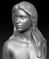 Woman bust