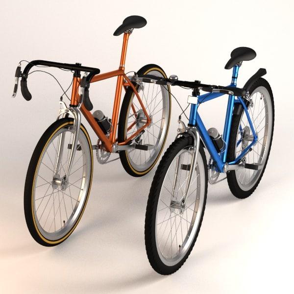 3d model bicycles mountain racing