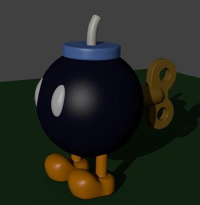 bob-omb mario 3d model