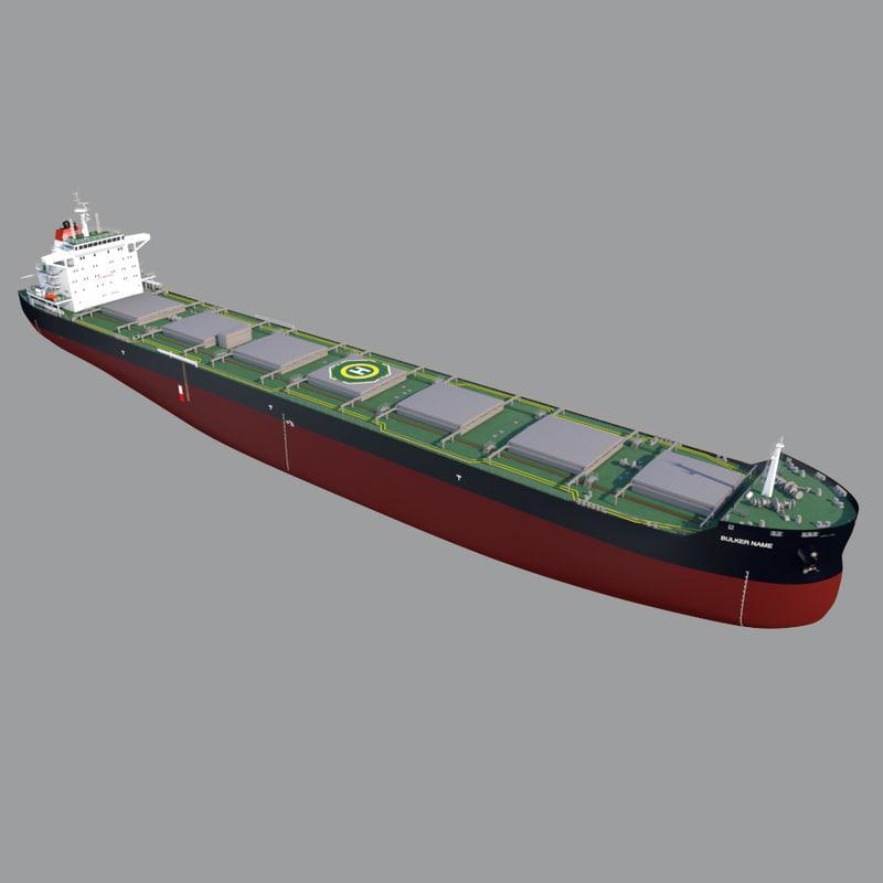 3dsmax bulk carrier 82000