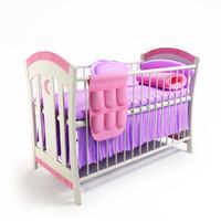 cot baby 3d model